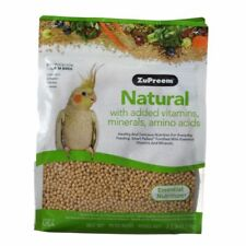LM ZuPreem Natural Blend Bird Food - Cockatiel  Medium (3 lbs)