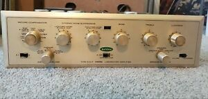 H.H. SCOTT TUBE DYNAURAL LABORATORY AMPLIFIER INTEGRATED AMP TYPE 210-F-TESTED