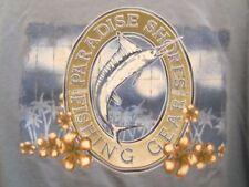 Paradise Shores blue graphic 2XL jersey Sailfish Fishing Gear