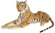 New Large Brown Tiger Soft Cuddly Toy soft Toy Plush Massive 70 cm UK seller