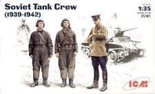 ICM 1/35 II Guerra Mundial soviético Tanque Tripulación 1939-1942 #35181