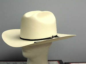 STETSON 100X RANCHER SHANTUNG PANAMA STRAW COWBOY WESTERN HAT