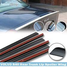 Stock In LA! Unpainted Volvo S40 1st Sedan Rear Trunk Lip Spoiler 2003