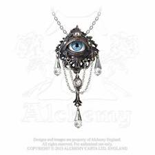 Alchemy Gothic Natural Magic: The Lore of The Forest Eye Pendant Necklace P666