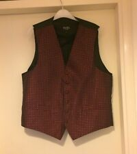 Moss Bros Mens Waistcoats Size: LARGE front button up & in EXCELLENT CONDITION.