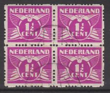 Roltanding 35 blok sheet used 1928 Netherlands Nederland syncopated Pays Bas