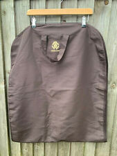 roberto cavalli garment/dress bag suit carriers travel bag brown gold logo