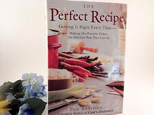 The Perfect Recipe Cook Book Pam Anderson Cooks Illustrated 1998 Hardcover