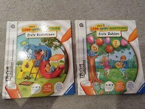 Tiptoi Bücher Erste Buchstaben und Erste Zahlen