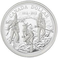 200th Anniversary War of 1812 - 2012 Canada Proof Silver Dollar