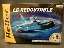 HELLER LE REDOUTABLE 71241 1/400 25 PIECES  MILITARY MODEL - NEW IN SEALED BOXe