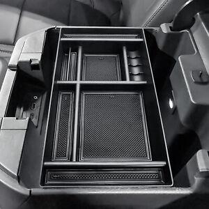 For Chevy Silverado GMC Sierra 2019-2021 Armrest Storage Box Center Console Tray