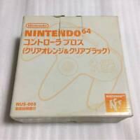 Excellent Nintendo 64 Daiei Hawks Controller Orange Black DHL Tracking Tasted