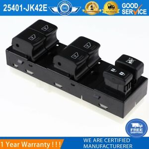 25401-JK42E Front Left Master Window Control Switch For Infiniti G35 G37 G25 Q40