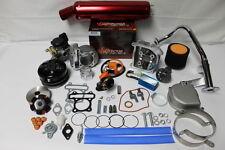 Scooter Big Bore Kit 105cc 52mm Bore QMB139  Large Valve Performance Kit5Burg