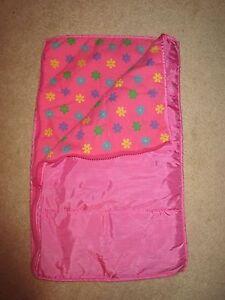 BUILD-A-BEAR - Accessory - Sleeping Bag - Pink - Flowers