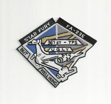 "Babylon 5 TV Series Star Fury FA-23E Logo 6"" Premium Embroidered Patch"