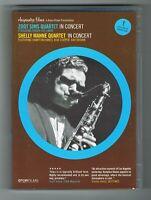ZOOT SIMS QUARTET / SHELLY MANNE QUARTET - IN CONCERT - DVD NTSC/PAL - BON ÉTAT