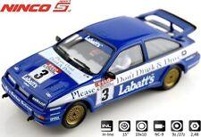 """Ninco 50635 Ford Sierra """"labatt's"""" #3 Bristow -- nuevo/en el embalaje original"""