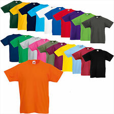 FRUIT OF THE LOOM Kids Original Tee Shirt 104 116 128 140 152 164 Kinder (B) FOL