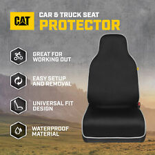 Cat Waterproof Truck Front Seat Cover - Durable Neoprene Car Seat Towel Cover