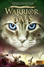 Warrior Cats Staffel 5 Band 3 Der erste Kampf Der Ursprung des Clans + BONUS