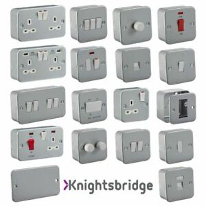 Metal Surface- MetalClad Range of Switches & Sockets - Worksop / Industrial
