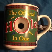 Papel The Official Hole In One golf Coffee Tea Mug Cup golfing golfer
