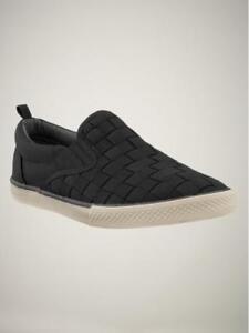 NEW GAP KIDS Canvas Slip-On Sneakers Black Size 2