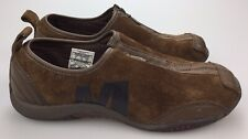 Merrell Barrado Sport Dark Earth Brown Zip Comfort Shoes Women's Size 6 36