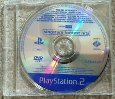 Sony Playstation 2 PS2 Game Singstar Hottest Hits Promo Version
