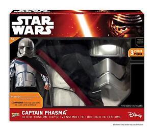 Star Wars Captain Phasma Child's costume, Darth Vader ,storm Trooper Imprl Team.