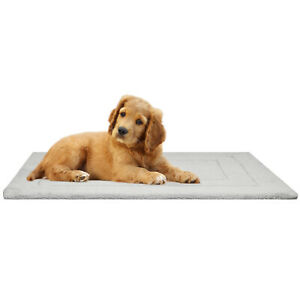 Soft Fleece Pet Mat Reversible Cat Dog Bed Cage Puppy Kitten Warm Padded Blanket