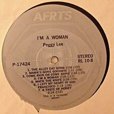 RADIO SHOW: AFN RL10-8 PEGGY LEE  'WOMAN' & TUXEDO JUNCTION  'TUXEDO JUNCTION'