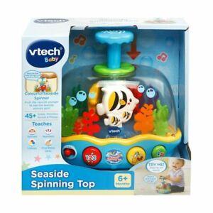 Vtech Seaside Spinning Top Seaside Spinning Top lets Your Kid Press Kids Toys R1