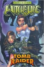 Witchblade featuring Tomb Raider: Ceremony by Z, Christina Paperback Book The