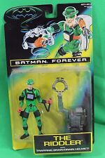 Batman Forever Riddler with Black Accessories Figure Kenner 1995 New on Card