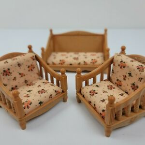 Epoch Calico Critters Furniture Set Outdoor Patio Chair Couch Sylvanian Families