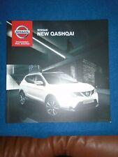 Nissan Qashqai range brochure Oct 2013