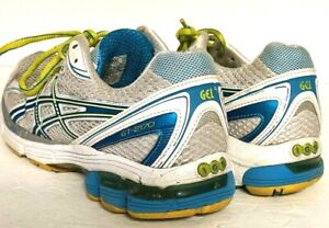 Asics GT-2170  Gel IGS Women's Running Shoes White With Blue Size 7.5