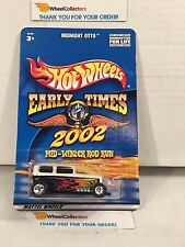 Midnight Otto * WHITE * Early Times Rod Run * Hot Wheels w/Real Riders * W31
