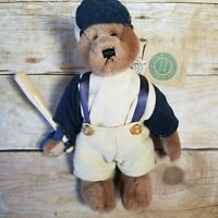 Slugger Baseball Bear Jointed Plush by Boyd's Bears & Friends Collectables