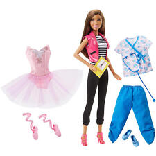 """Barbie """"Anything is Possible"""" Careers Fashions Gift Set - African American - NIB"""