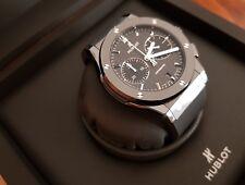 Unworn Hublot Classic Fusion Chronograph Black Magic Men's Watch 521.CM.1771.RX