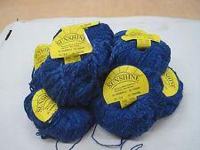 natur wolle zum stricken strickwolle|blau 500gr baumw/Vis/ Stricken Socken 1200m
