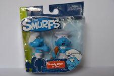 Smurfs Classic 6cm Pack of 2 - Greedy Smurf & Cheft AGE 4+