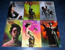 stephen king THE DARK TOWER treachery 1 2 3 4 5 6 1st print MARVEL COMIC set