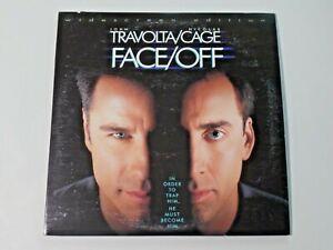 FACE/OFF Widescreen Edition Laserdisc Movie John Travolta, Nicolas Cage