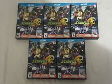 Nintendo Wii U Star Fox Zero with StarFox Guard Video Game Lot of 5