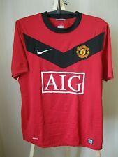 Manchester United 2009/2010 Home Sz S Nike football shirt jersey maillot soccer